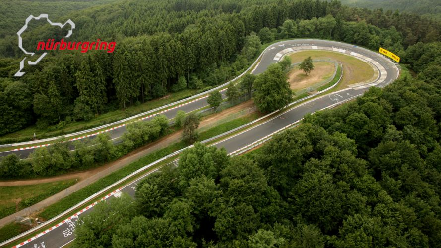 Nurburgring Nordschleife - The Carrusel Curve wallpaper
