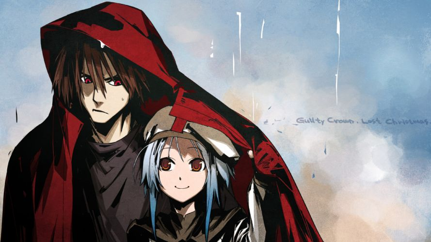 carol chuuou higashiguchi guilty crown guilty crown lost christmas scrooge e wallpaper