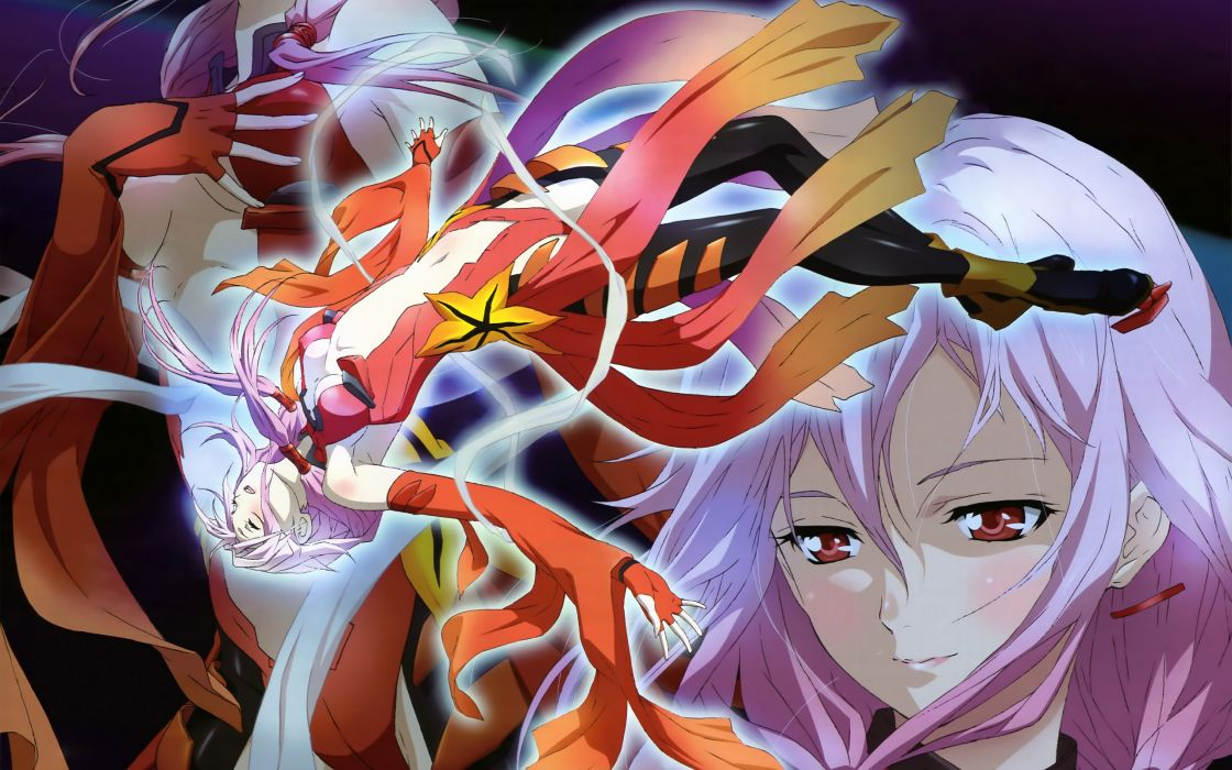 guilty crown yuzuriha inori         e wallpaper