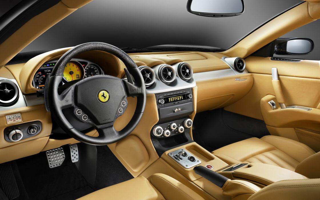 Ferrari Interior wallpaper