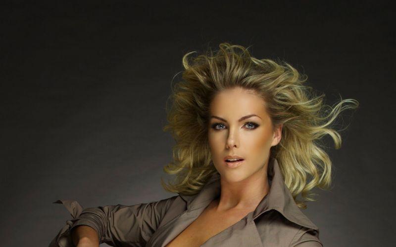 Ana Hickmann models blondes women females girls sexy babes wallpaper