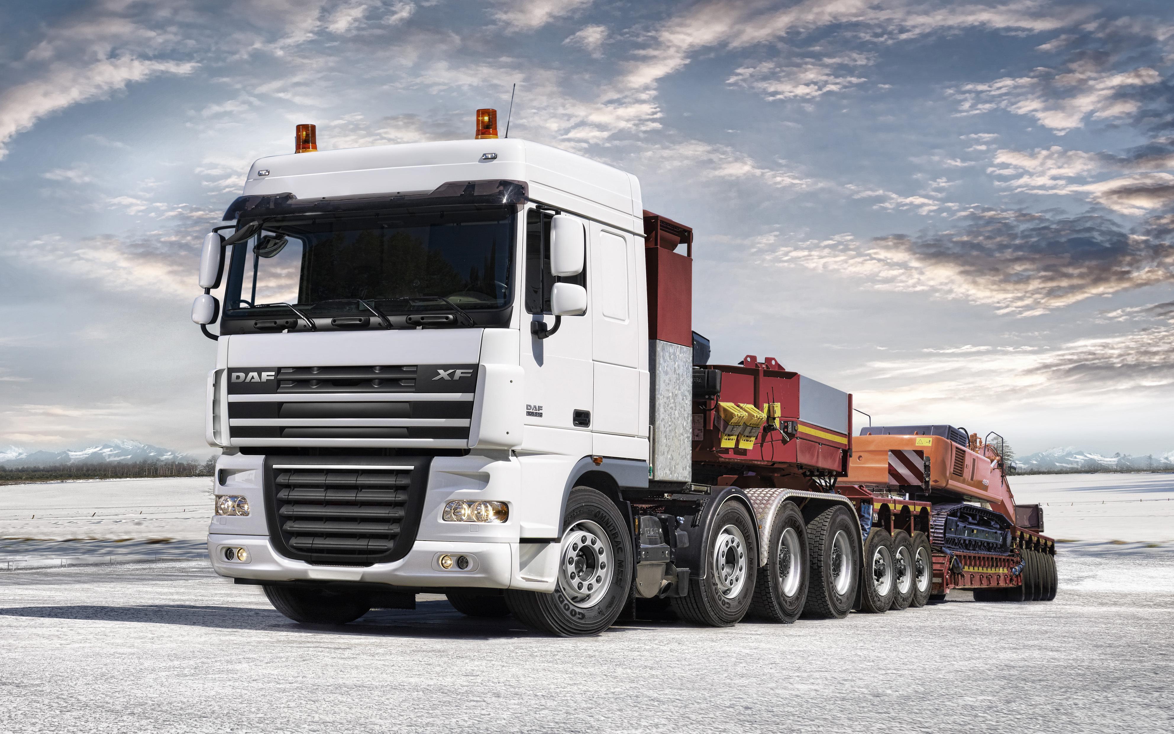 custom semi rigs tractor trucks wallpaper 3969x2480
