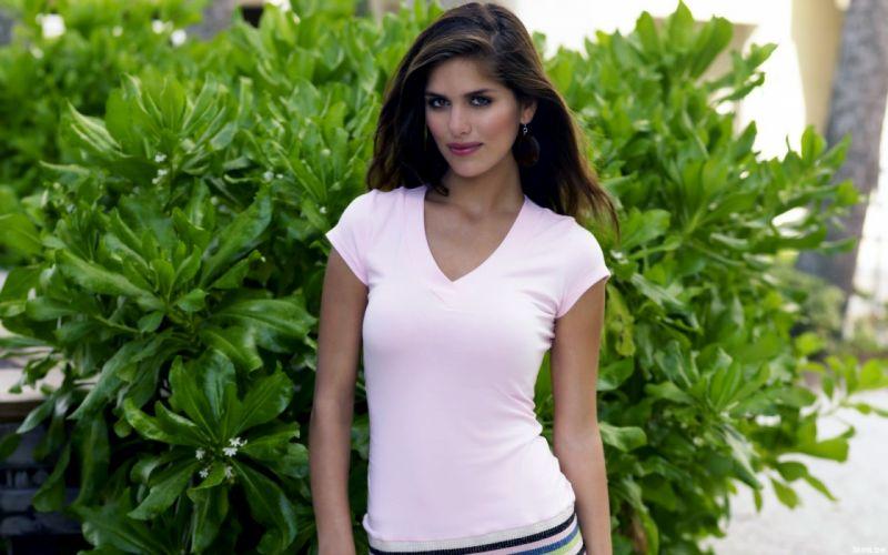 Anahi Gonzales models brunettes women females girls sexy babes wallpaper