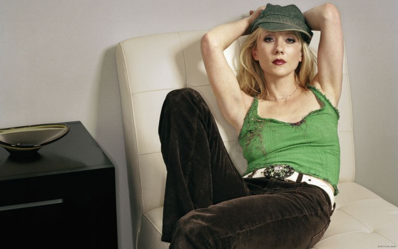 Anne Heche actress blondes women females girls sexy babes face eyes r wallpaper