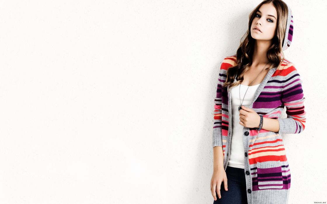 Barbara Alvin models brunettes women females girls sexy babes      d wallpaper