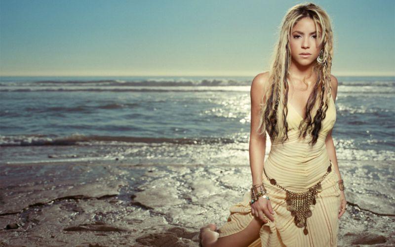 Shakira singer musician blondes women females girls sexy babes f wallpaper