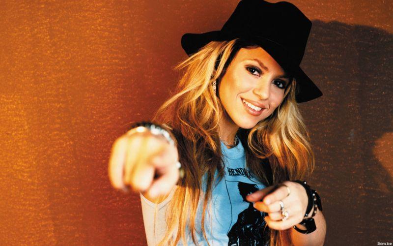 Shakira singer musician blondes women females girls sexy babes g wallpaper