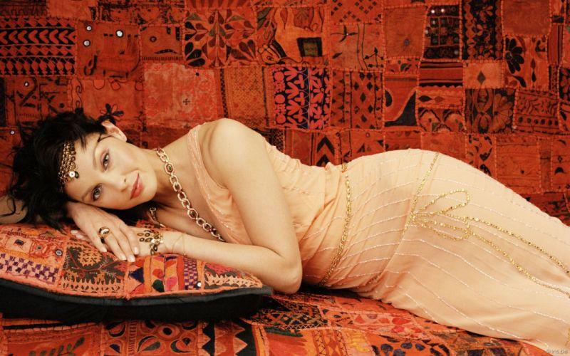 Ashley Judd actress brunettes women females girls sexy babes face eyes d wallpaper