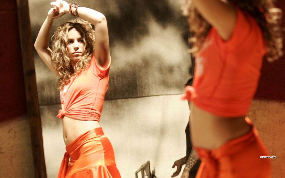 Shakira singer musician blondes women females girls sexy babes wallpaper