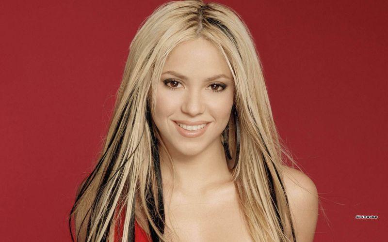 Shakira singer musician blondes women females girls sexy babes face eyes g wallpaper