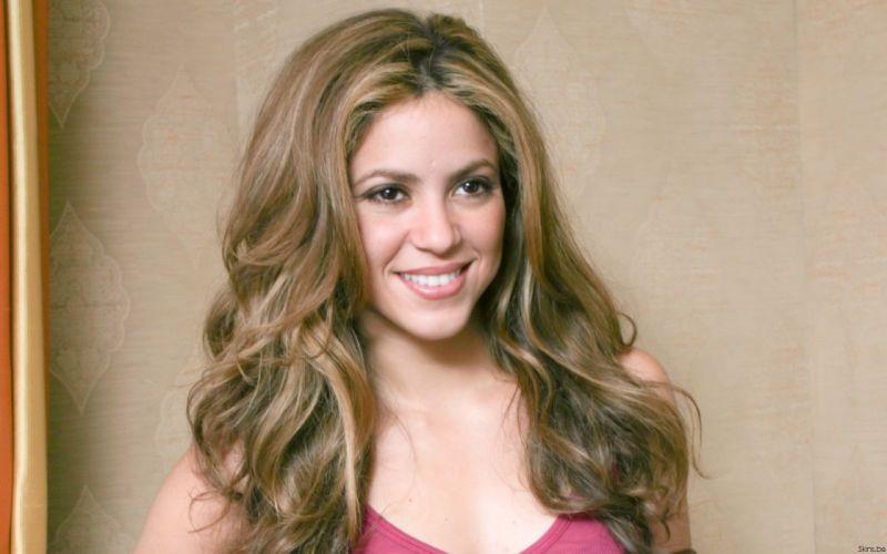 Shakira singer musician blondes women females girls sexy babes face eyes v wallpaper