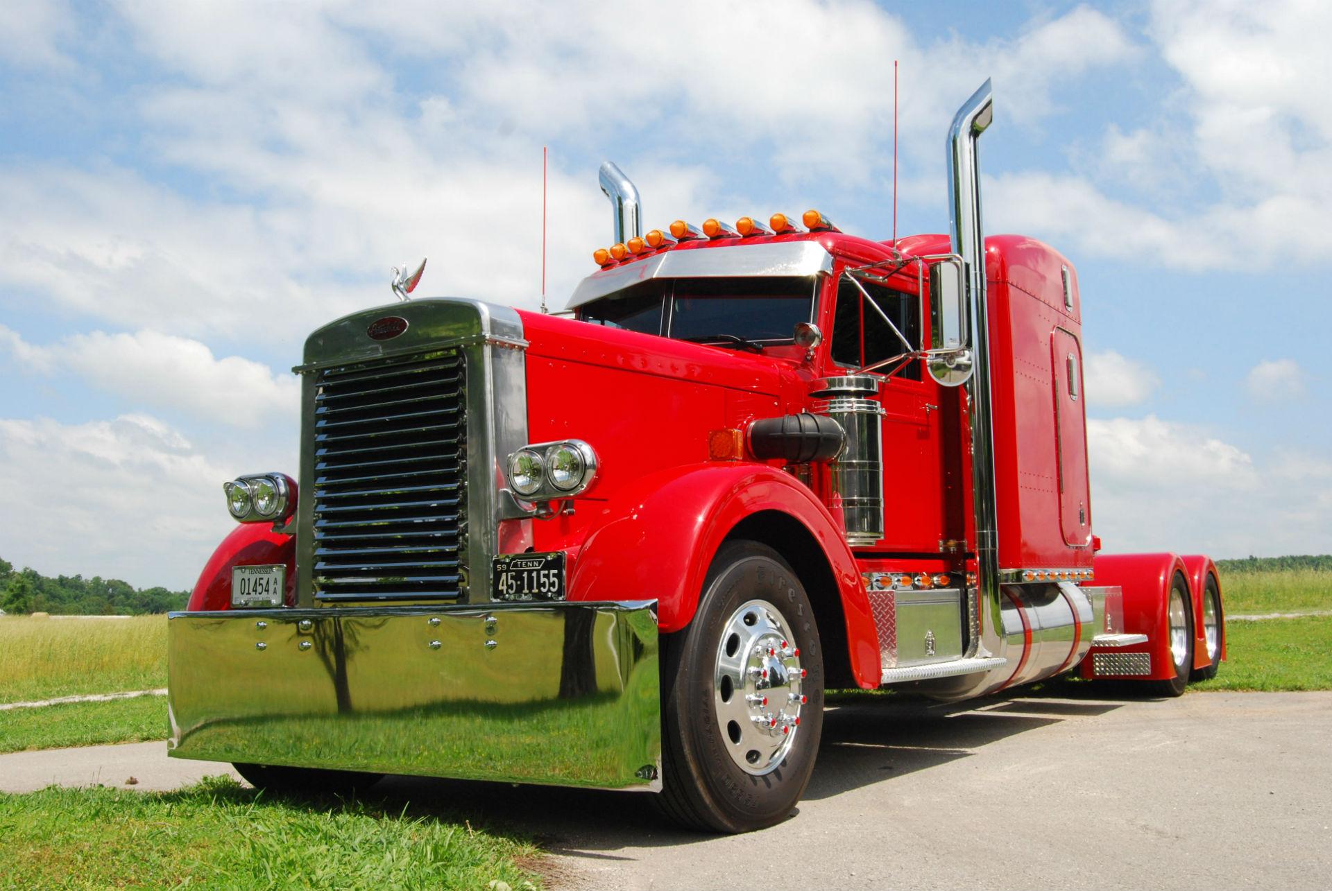 Semi Trucks Tractor Rigs Peterbilt Wallpaper 1920x1285 53826 Wallpaperup
