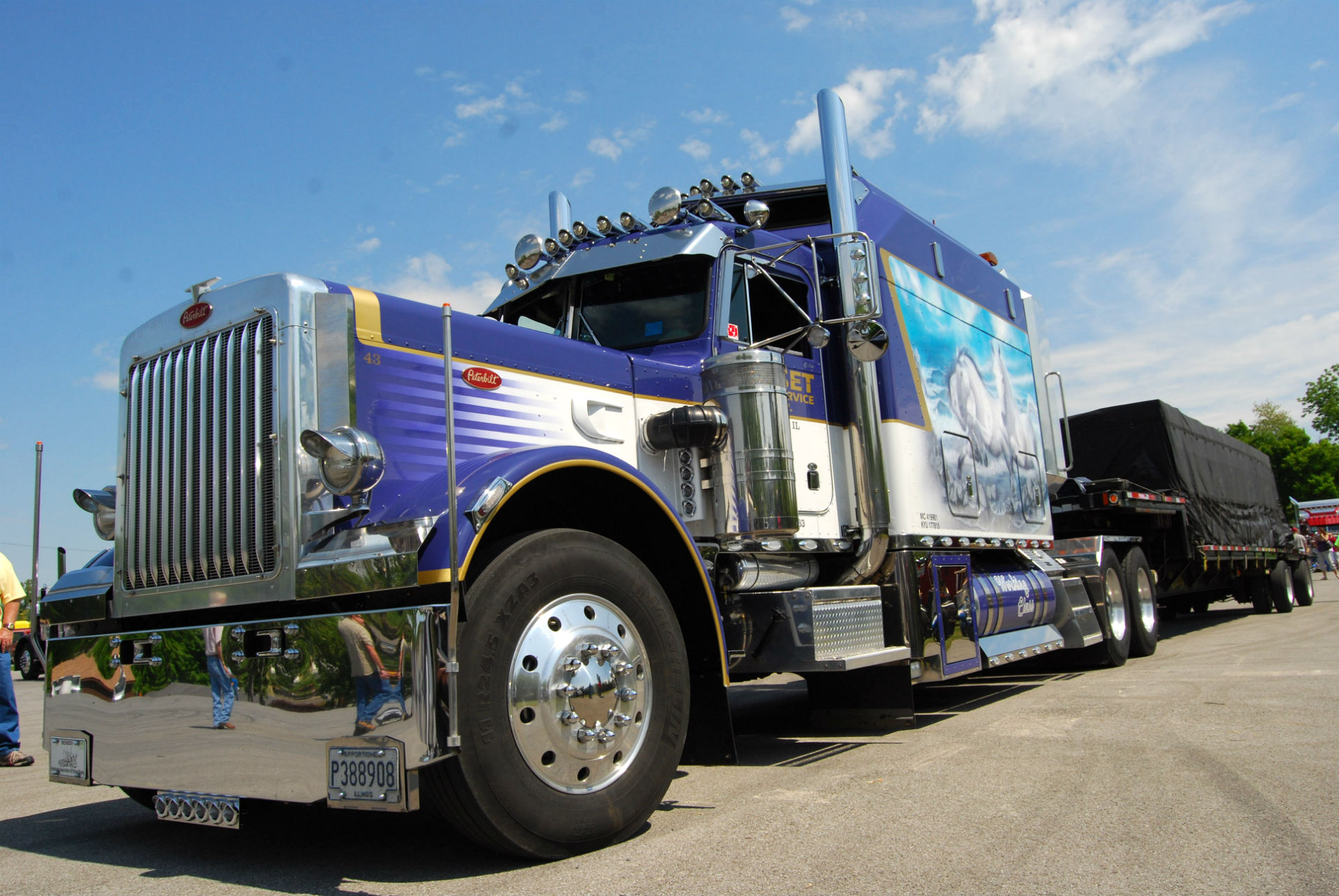 cars other semi truck custom wallpaper tags pictures