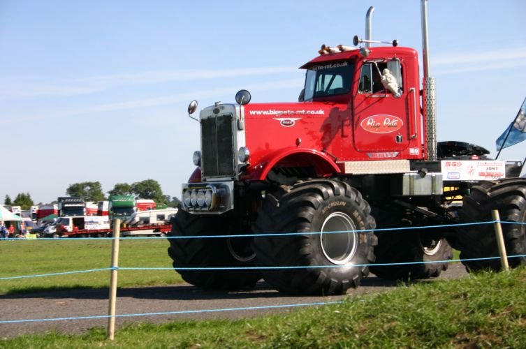Peterbilt semi trucks tractor rigs monster wallpaper