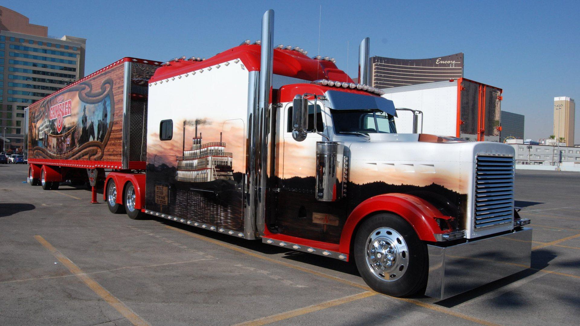 Custom Semi Trucks Peterbilt Peterbilt Semi Trucks Tractor