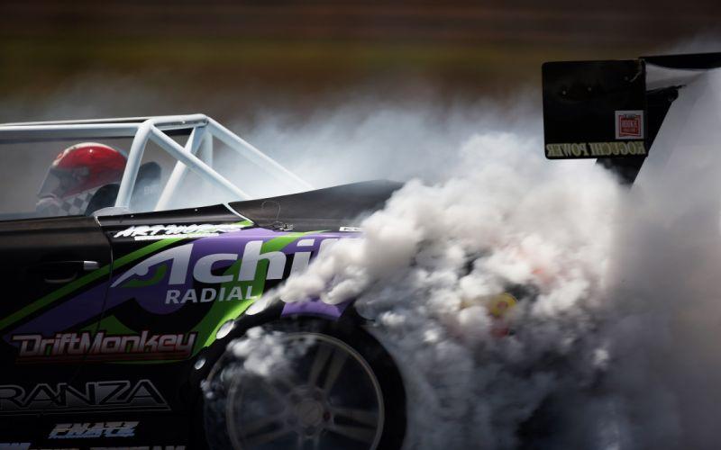 cars smoke racing wallpaper