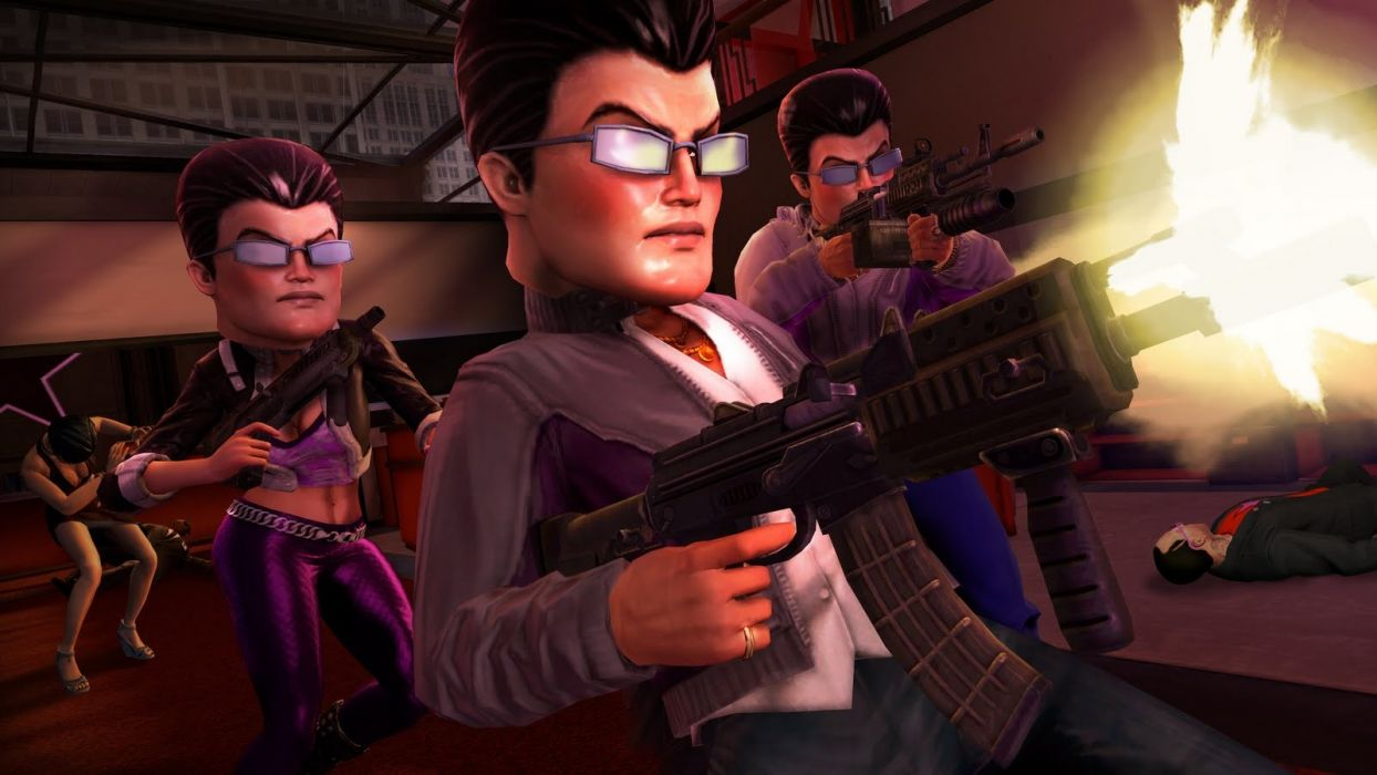 Video Games Artwork Saints Row Saints Row The Third Wallpaper