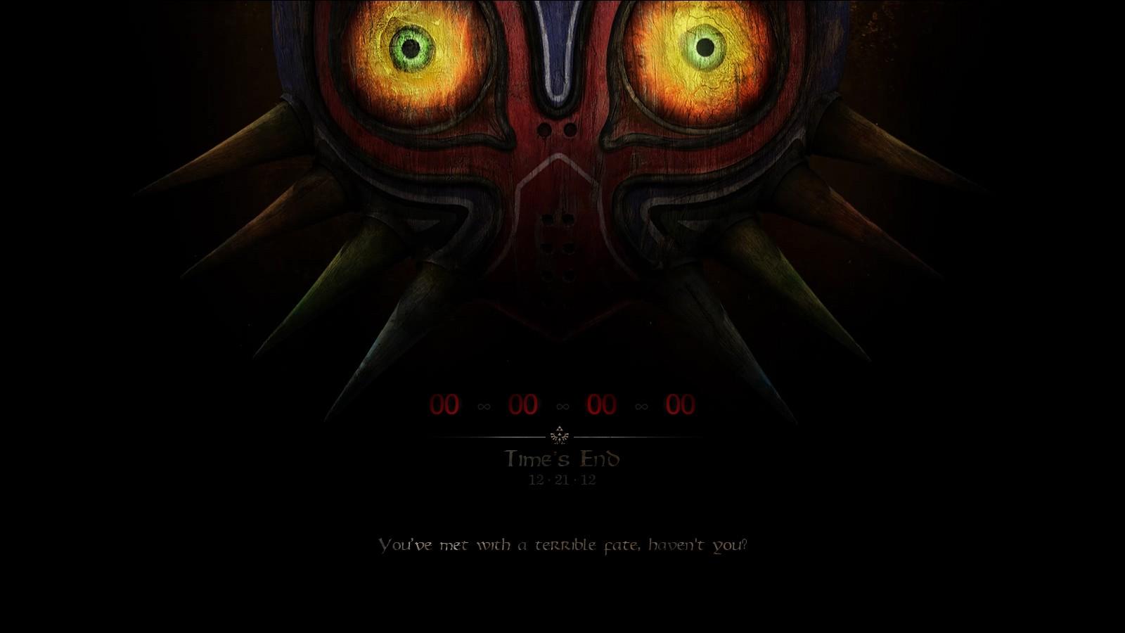 Masks End Skull Kid The Legend Of Zelda Majoras Mask Time