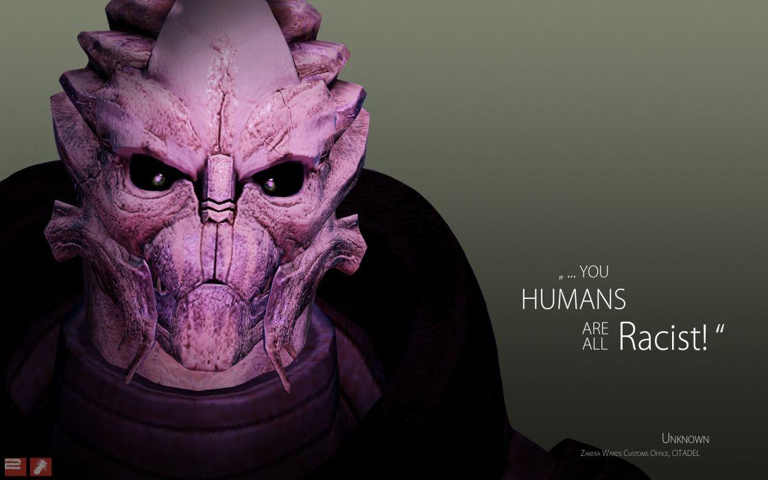 Mass Effect Turian Wallpaper 2560x1600 53969 Wallpaperup
