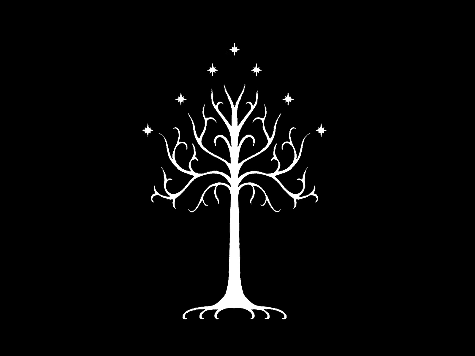 Trees The Lord Of The Rings Gondor Wallpaper 1600x1200