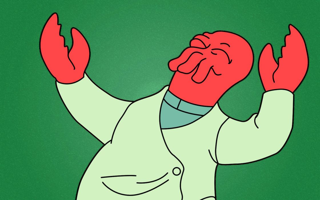 Futurama Dr Zoidberg wallpaper
