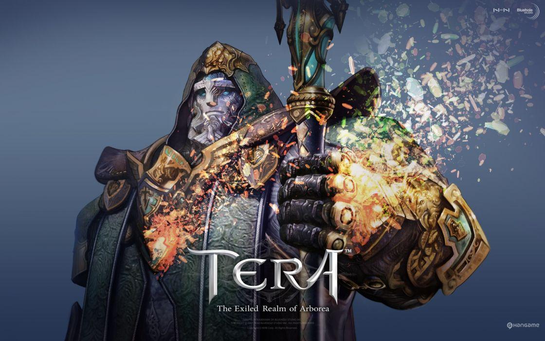 priest Tera MMORPG Baraka wallpaper