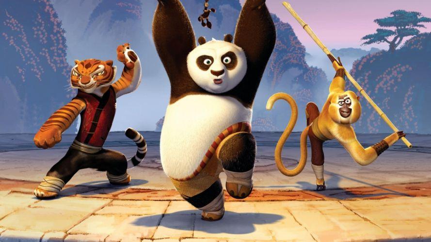 Kung Fu Panda poop wallpaper