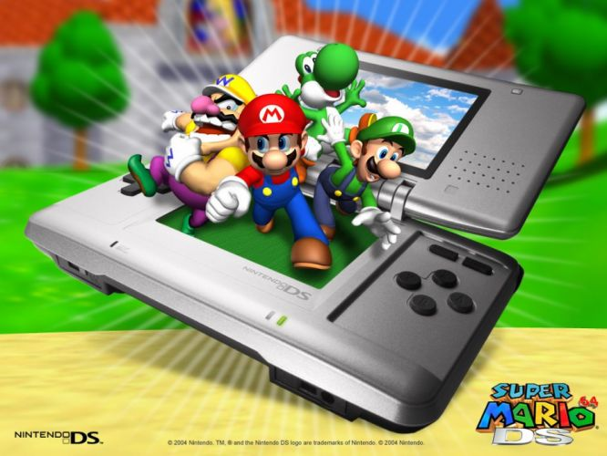Nintendo DS Super Mario 64 DS wallpaper