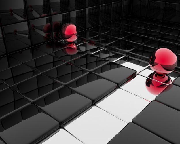 3D view wallpaper