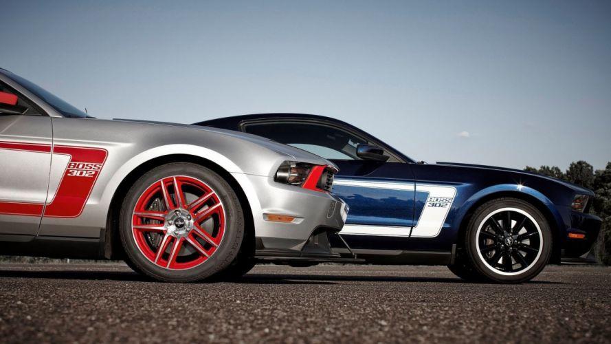 cars Ford roads wheels wallpaper