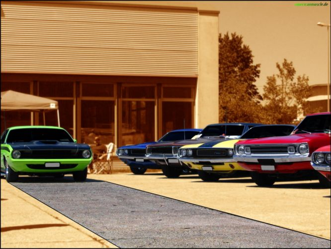 cars muscle cars mopar Dodge Charger wallpaper