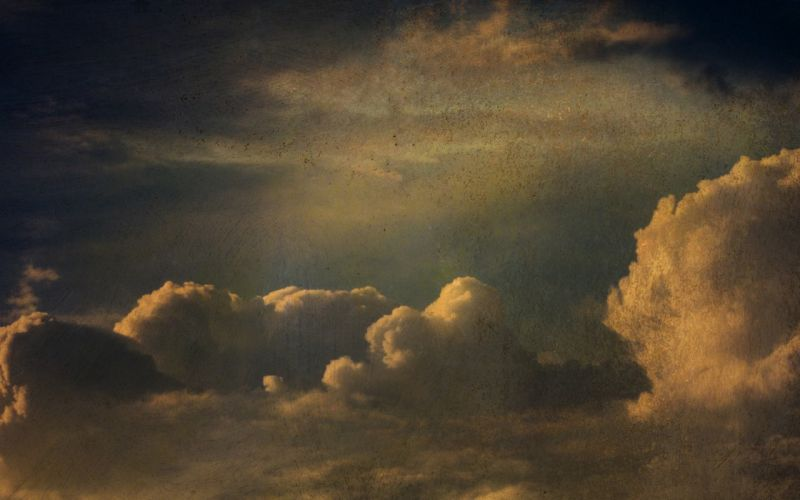 clouds vintage skyscapes photomanipulation wallpaper