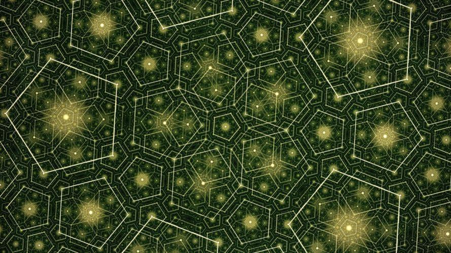 abstract artwork pentagon wallpaper