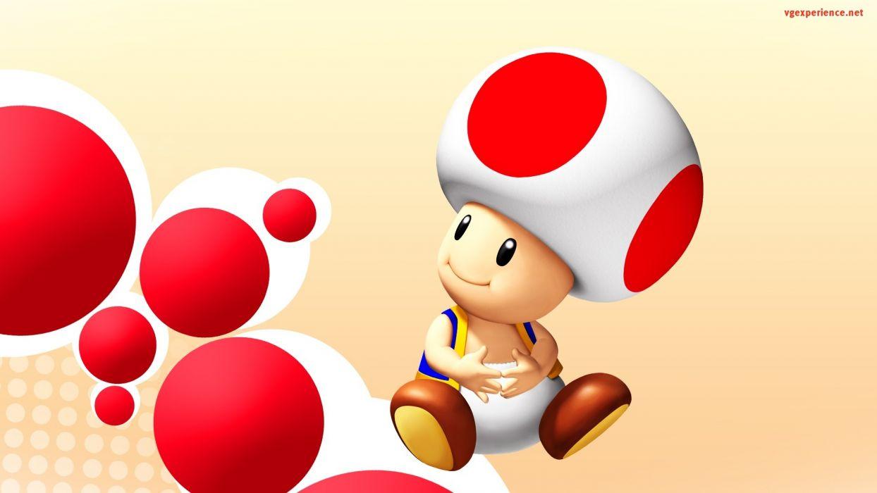 Mario toad wallpaper
