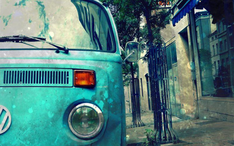 cityscapes Volkswagen wallpaper