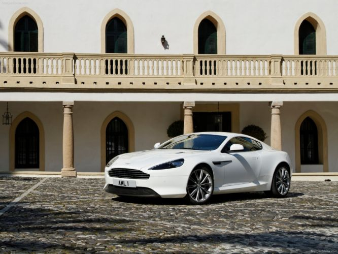 cars Aston Martin virage white cars Aston Martin Virage wallpaper