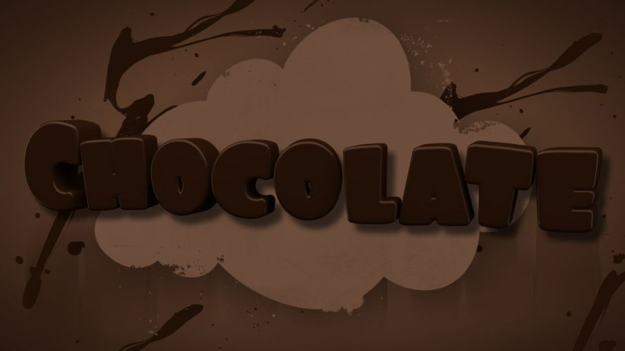 text chocolate mangotangofox wallpaper