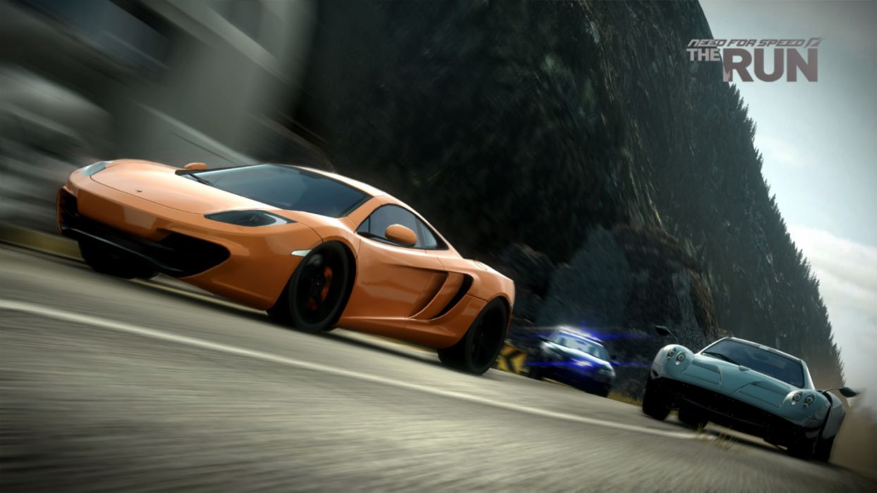 video games cars McLaren MP4-12C Need for Speed The Run games pc games wallpaper