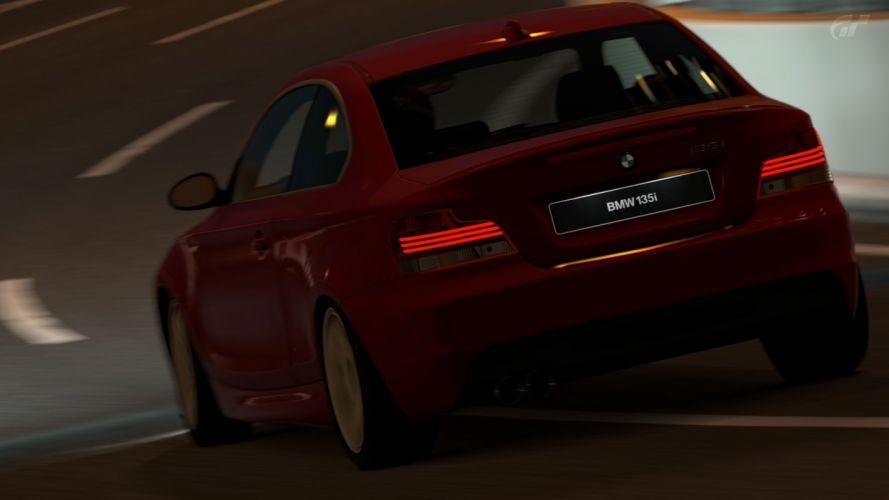 video games cars Gran Turismo 5 PS3 BMW 135i wallpaper