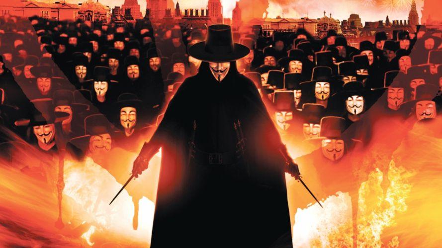 Guy Fawkes V for Vendetta wallpaper