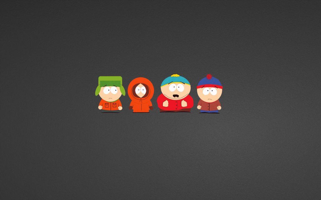 cartoons South Park humor funny Eric Cartman characters Stan Marsh Kenny McCormick Kyle Broflovski wallpaper