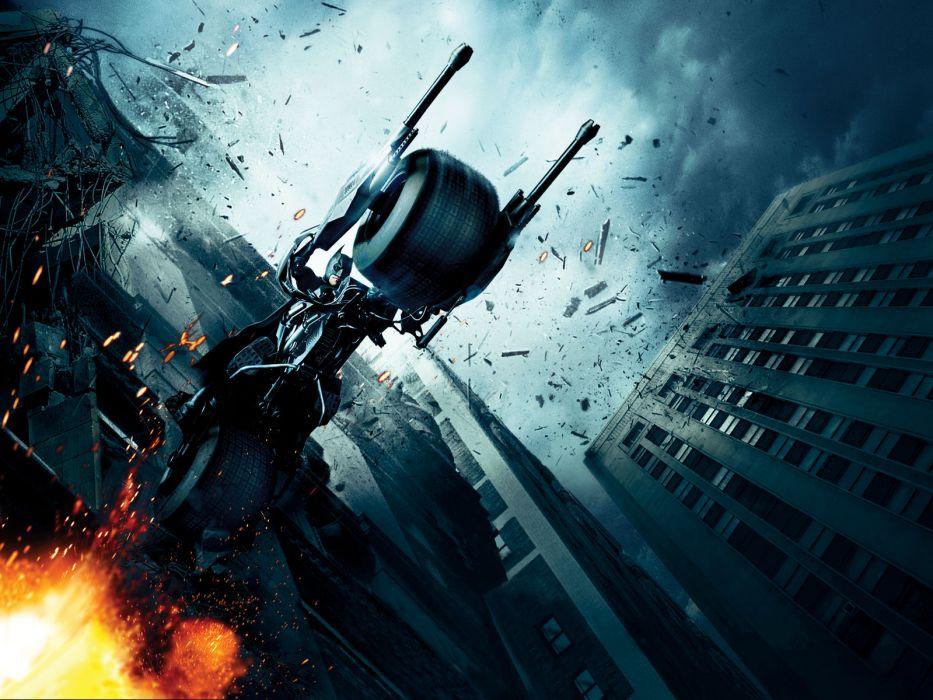 Batman Christian Bale Batmobile Batman The Dark Knight Batpod wallpaper