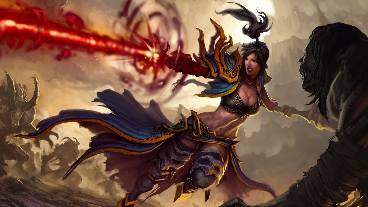artwork Diablo III wallpaper