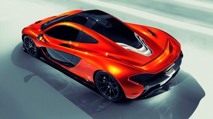 cars McLaren Mclaren P1 McLaren P1 Concept wallpaper