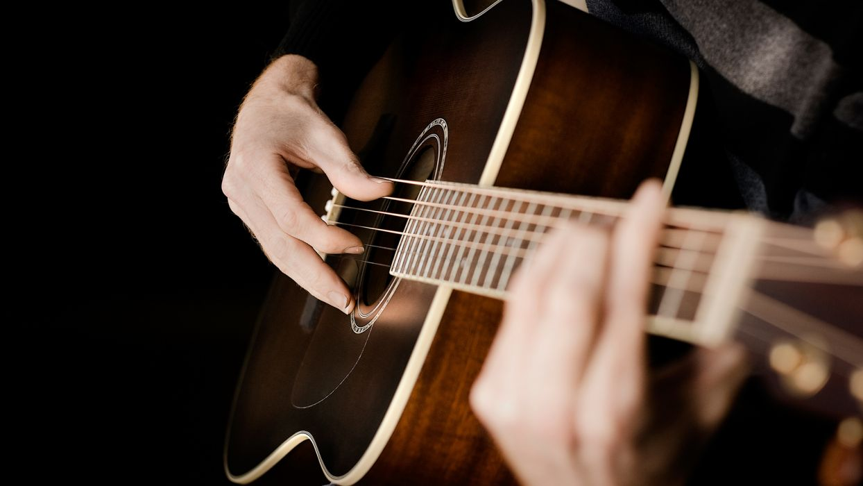 close-up acoustic guitars guitars fingerstyle guitar wallpaper