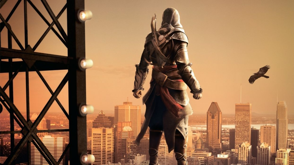 video games Assassins Creed Montreal Assassins Creed Revelations posters Ezio Auditore da Firenze wallpaper
