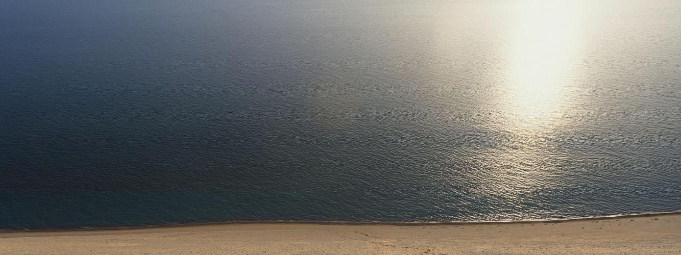 landscapes beach sand sea wallpaper