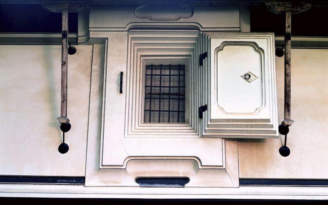 Japan window panes wallpaper