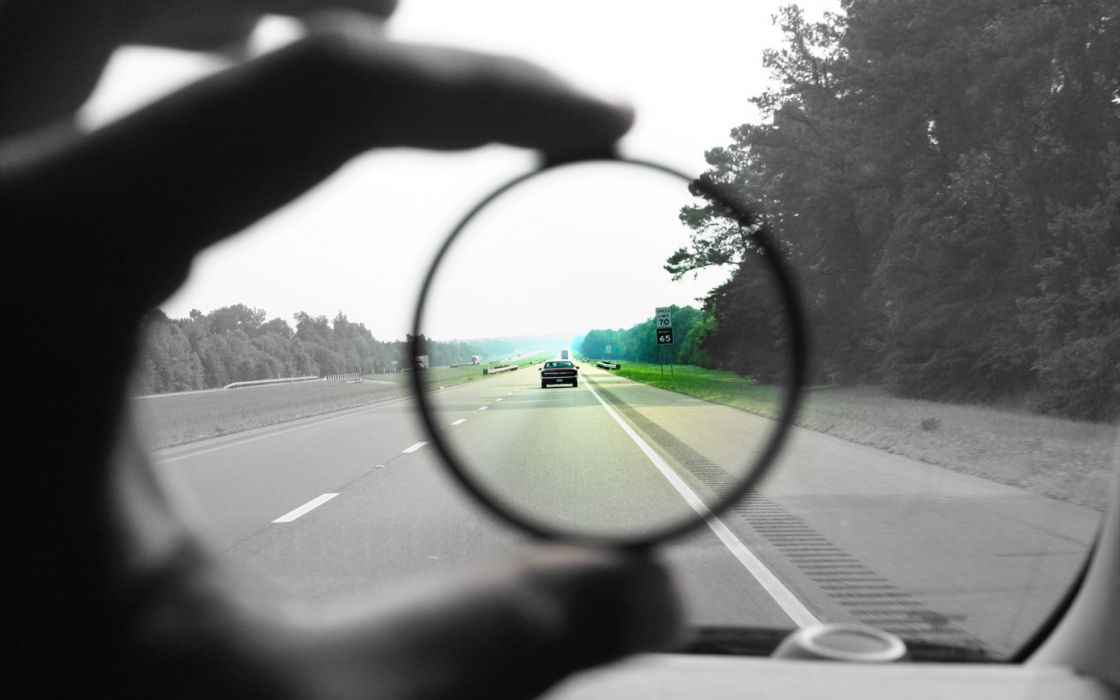 green black and white cars fingers highway selective coloring asphalt background wallpaper