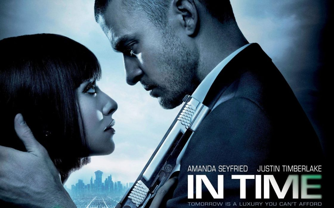 movies Amanda Seyfried Justin Timberlake In Time wallpaper